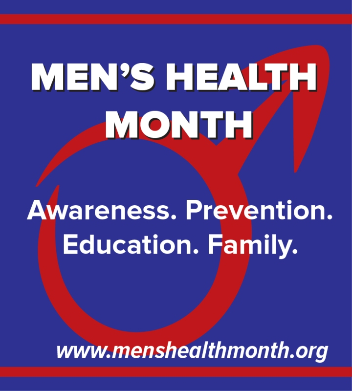 June is Men's Health Month!!